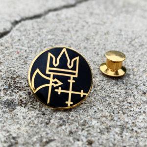 Pins i smykkekvalitet, emalje